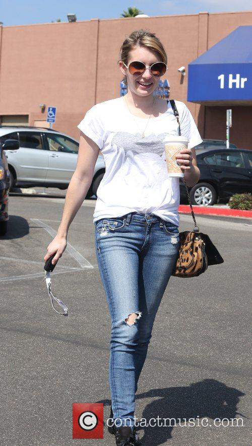 Emma Roberts and Beverly Hills 10