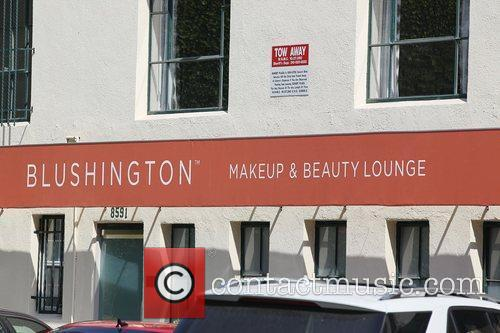 General view of Blushington Makeup and Beauty Lounge...