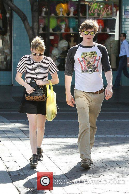 Emma Roberts, Evan Peters, Halloween and West Hollywood 12