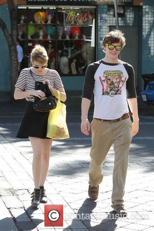 Emma Roberts, Evan Peters, Halloween and West Hollywood 5
