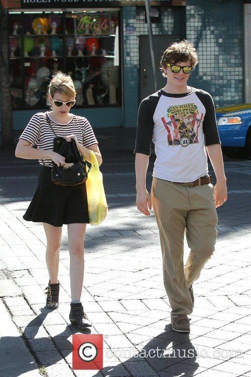 Emma Roberts, Evan Peters, Halloween and West Hollywood 2