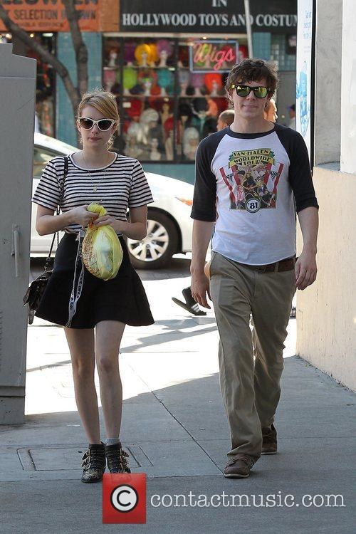 Emma Roberts, Evan Peters, Halloween and West Hollywood 10