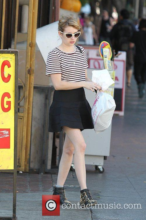 Emma Roberts, Evan Peters, Halloween and West Hollywood 15
