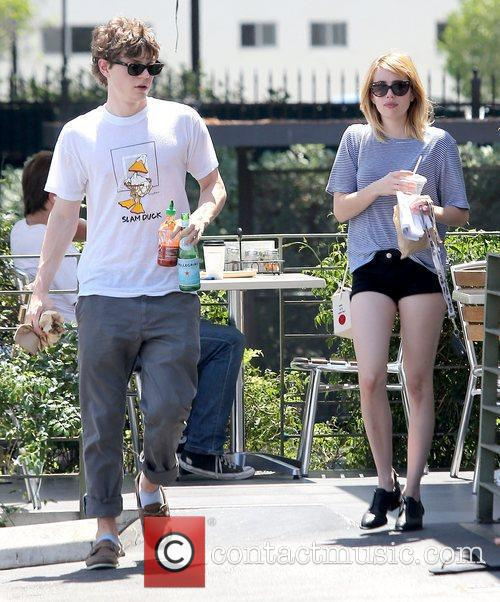 Evan Peters and Emma Roberts 6