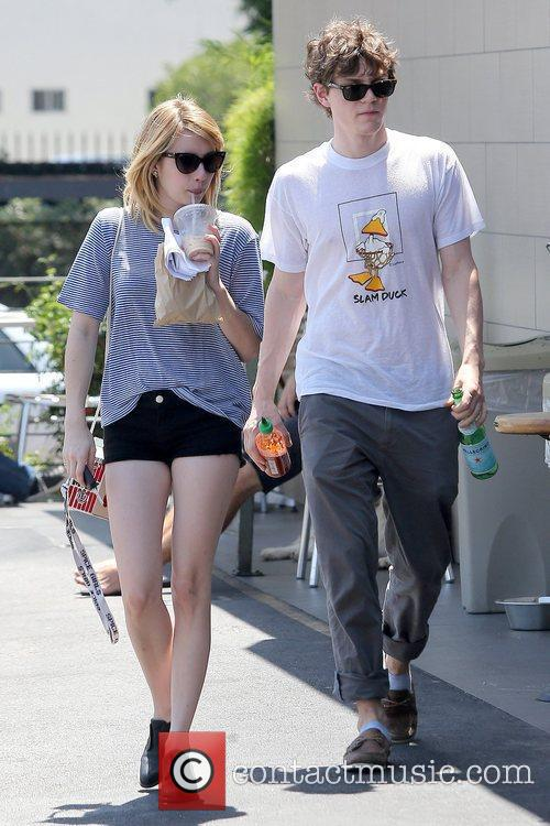 Evan Peters and Emma Roberts 11