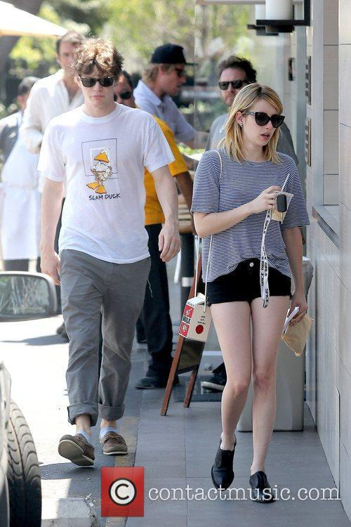 Evan Peters and Emma Roberts 12