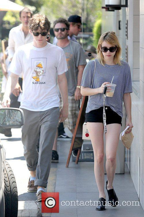 Evan Peters and Emma Roberts 13