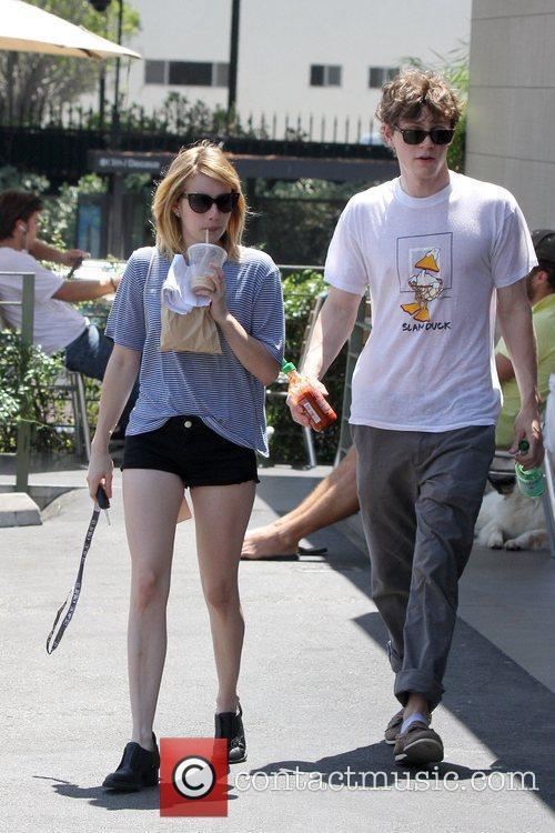 Evan Peters and Emma Roberts 7