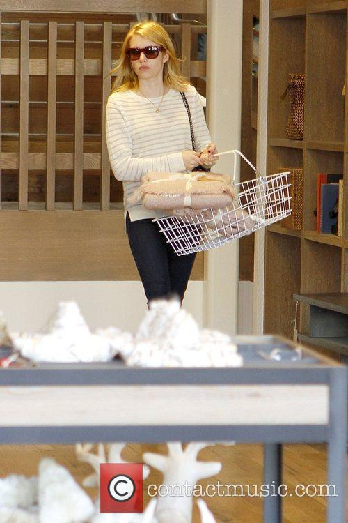 emma roberts shopping at west elm in 5773500