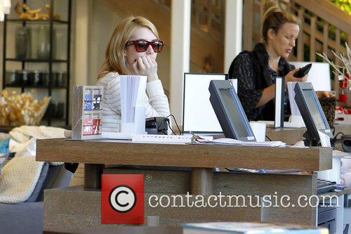 emma roberts shopping at west elm in 5773506