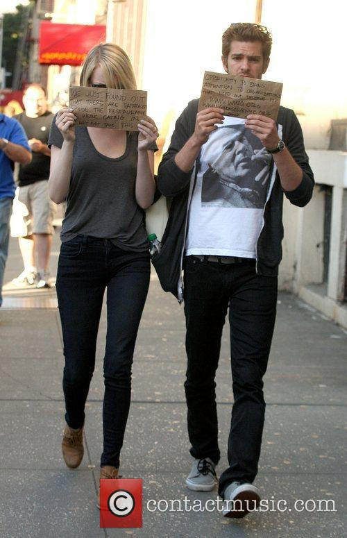Emma Stone and Andrew Garfield 1