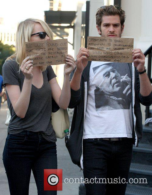 Emma Stone and Andrew Garfield 3