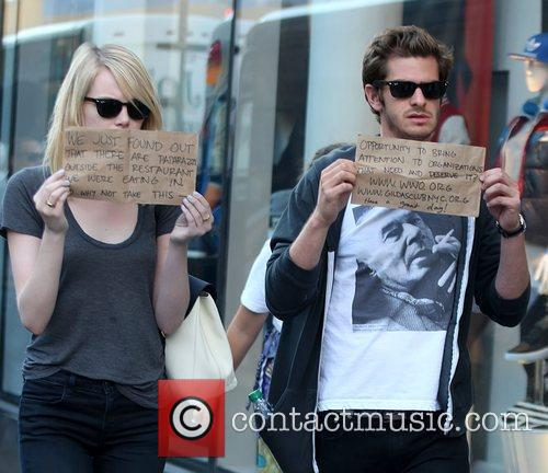 Emma Stone and Andrew Garfield 4