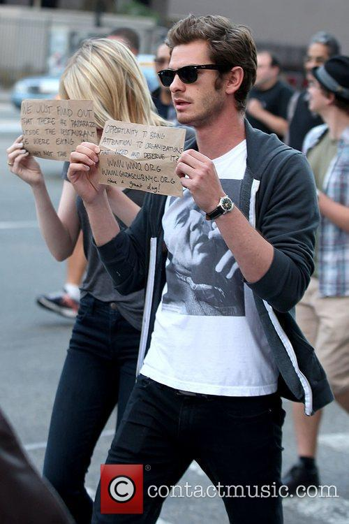 Emma Stone and Andrew Garfield 5
