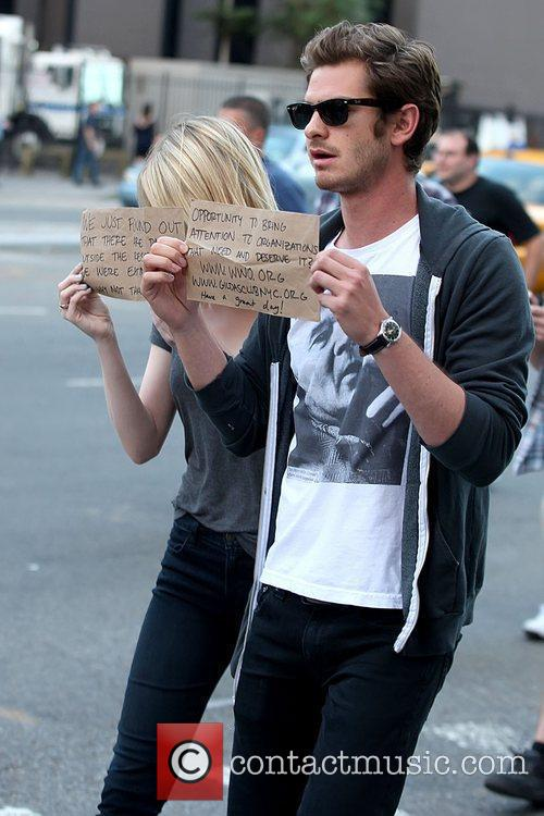 Emma Stone and Andrew Garfield 6