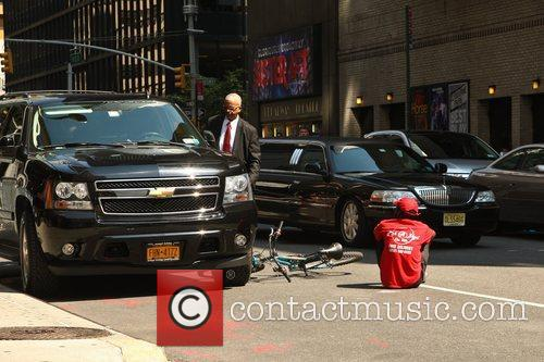 'The Late Show with David Letterman' held at...