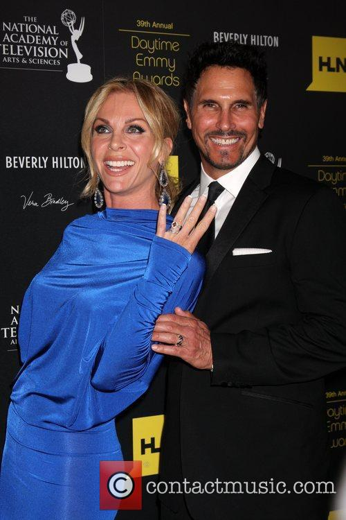 Cindy Ambuehl and Don Diamont  39th Daytime...
