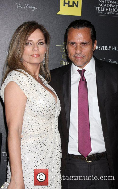 Maurice Bernard and guest 39th Daytime Emmy Awards...