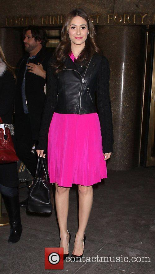 emmy rossum arrives at the new york 3700387
