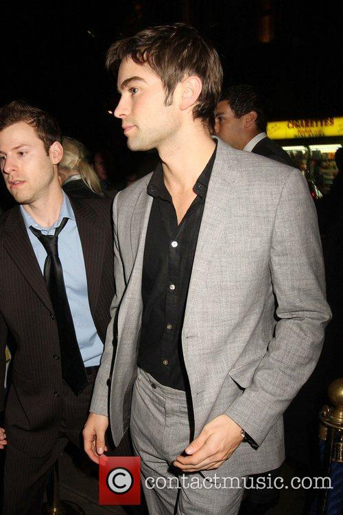 Chace Crawford and Cafe De Paris