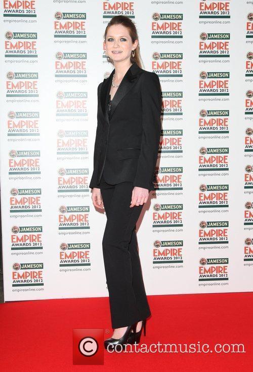 Bonnie Wright The Empire Film Awards 2012- Arrivals...