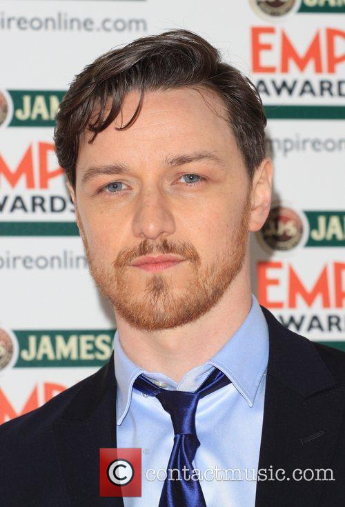 James McAvoy The Empire Film Awards 2012- Arrivals...
