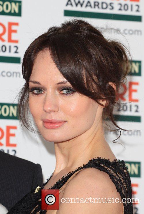 Laura Haddock The Empire Film Awards 2012- Arrivals...
