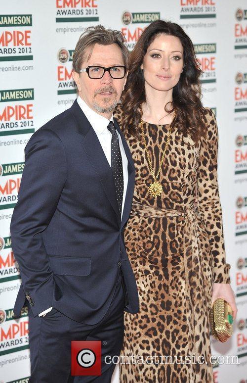 Gary Oldman and Alexandra Edenborough The 2012 Jameson...