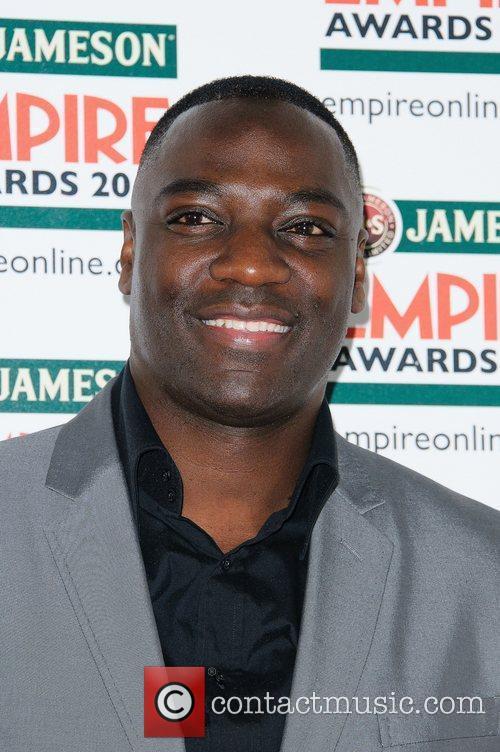 Adewale Akinnuoye-Agbaje The Empire Film Awards 2012- Arrivals...
