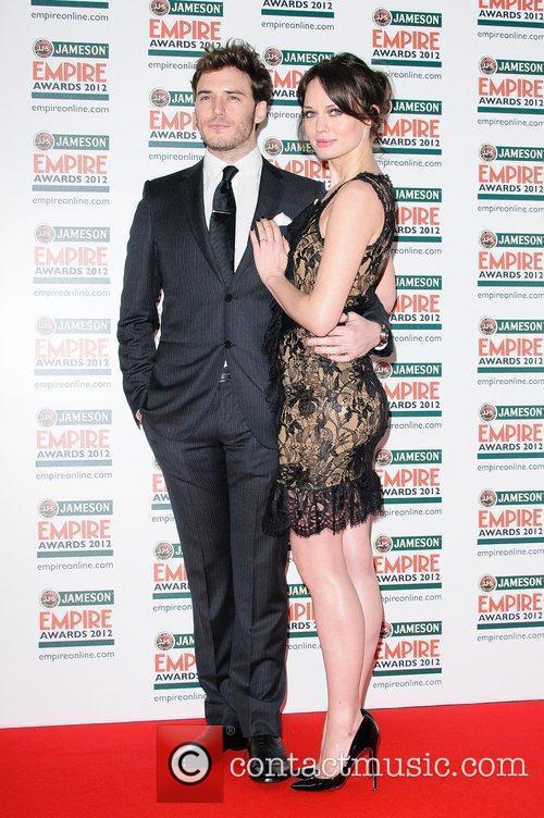 Sam Claflin and Laura Haddock The Empire Film...