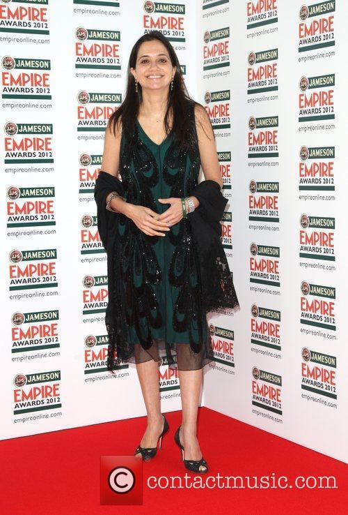 Anupama Chopra The Empire Film Awards 2012- Arrivals...
