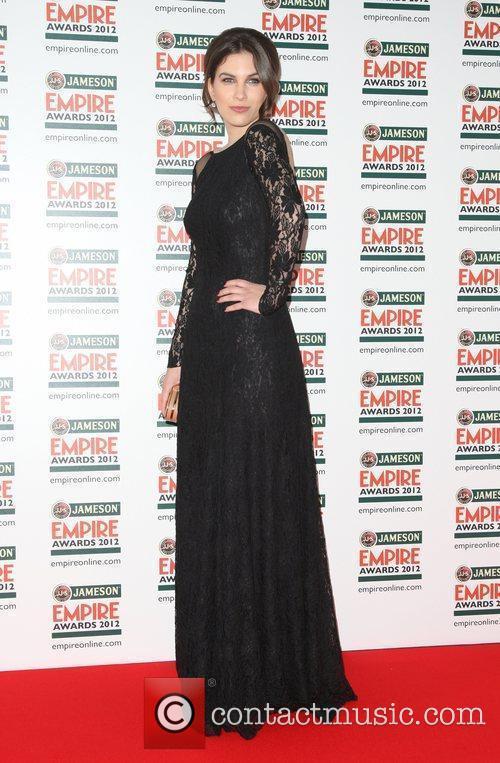 Ornela Vistica The Empire Film Awards 2012- Arrivals...