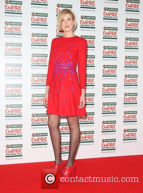 Agyness Deyn The Empire Film Awards 2012- Arrivals...