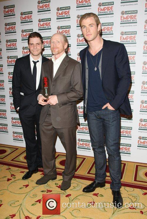 Daniel Bruhl, Chris Hemsworth and Ron Howard 1