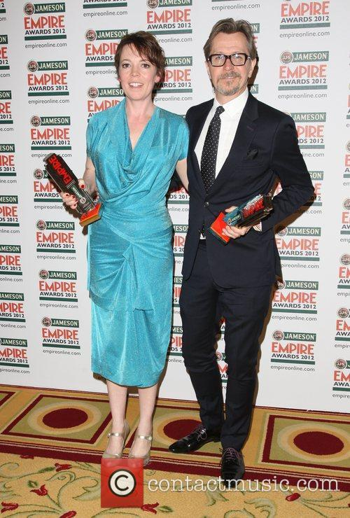 Olivia Colman and Gary Oldman 2