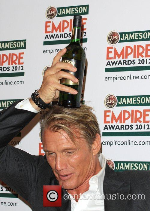 Dolph Lundgren The Empire Film Awards 2012- Press...