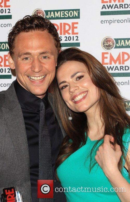 Tom Hiddleston and Hayley Atwell 7