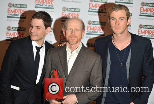 Daniel Bruhl, Chris Hemsworth, Ron Howard and Grosvenor House 2