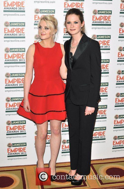 evanna lynch and bonnie wright the 2012 3799190