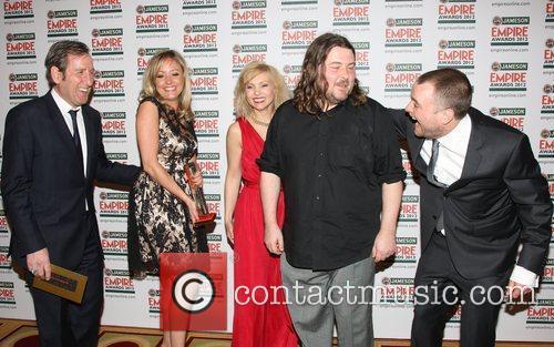 Claire Jones, director Ben Wheatley and MyAnna Buring,...