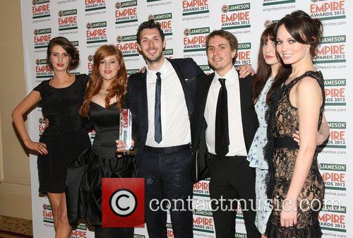 Lydia, Blake Harrison, Joe Thomas, Tamla Kari, The Inbetweeners and Grosvenor House 2