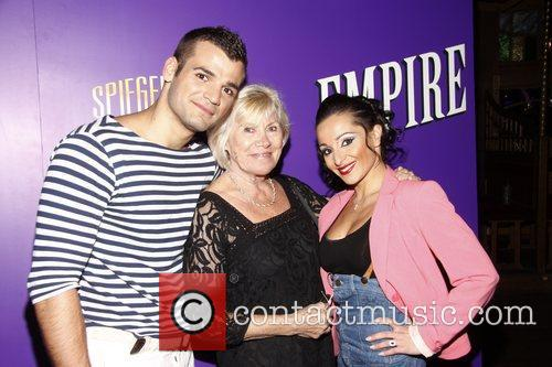 Cast Opening night of Spiegelworld's 'Empire' on West...