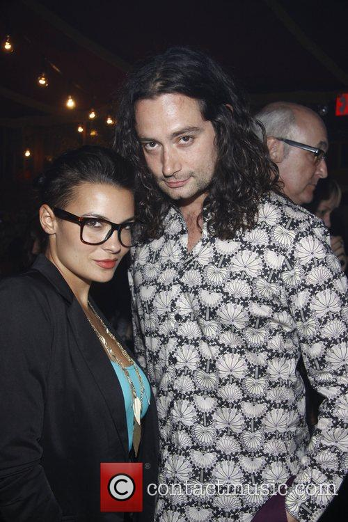 Krista Ayne and Constantine Maroulis Opening night of...