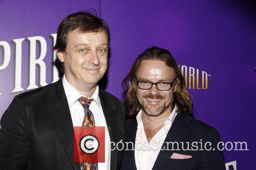 Ross Mollison and David Foster Opening night of...