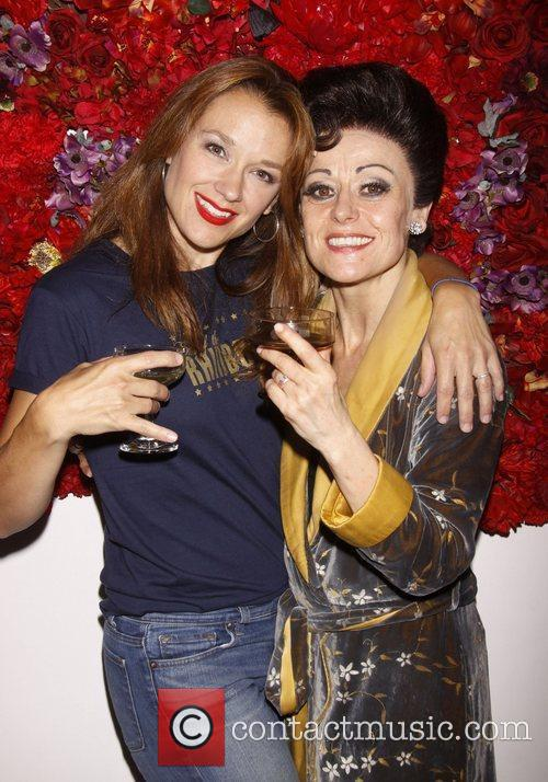 Sarah Uriarte Berry and Tracie Bennett Broadway closing...