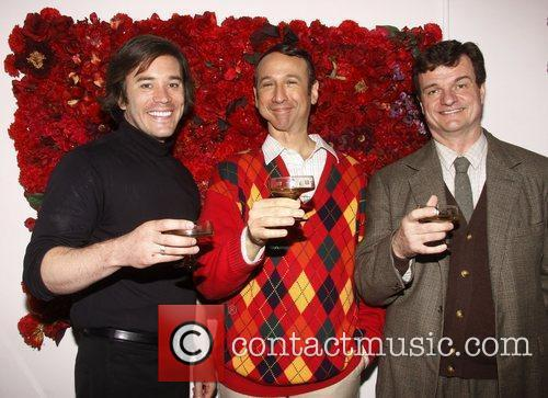 Tom Pelphrey, Jay Russell and Michael Cumpsty Broadway...