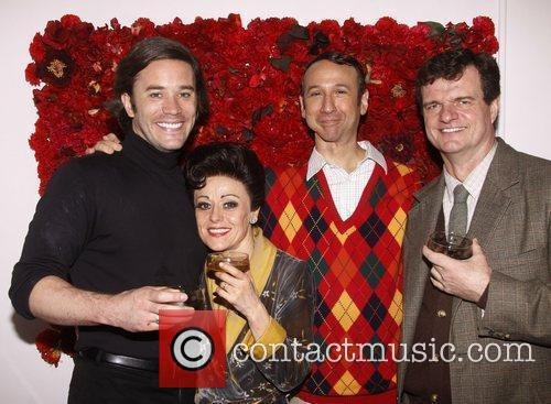 Tom Pelphrey, Tracie Bennett, Jay Russell and Michael...