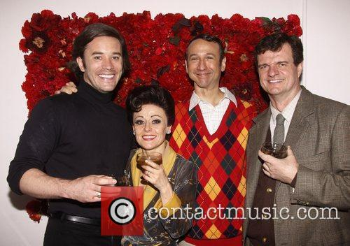 Broadway closing night of 'End Of The Rainbow'...