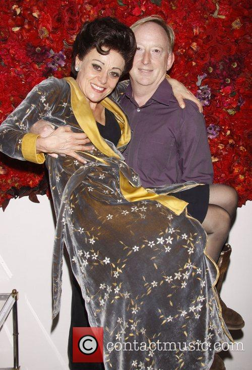 Tracie Bennett and Lee Dean Broadway closing night...