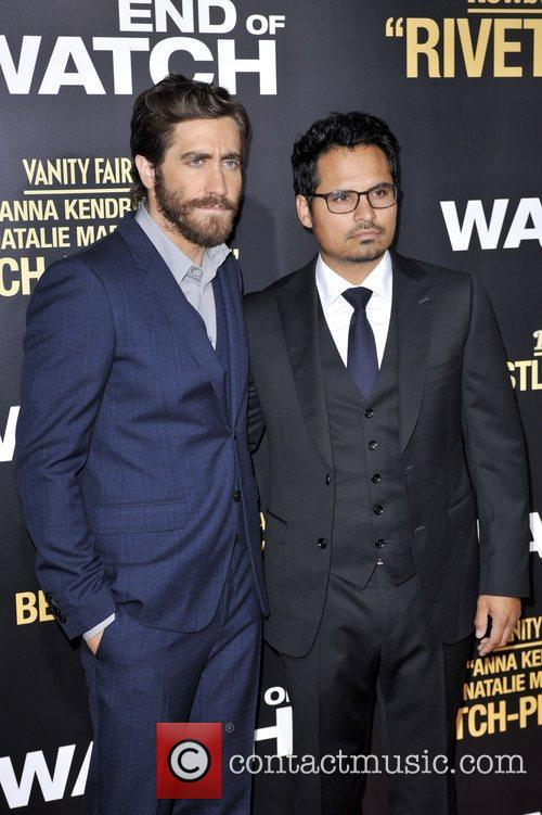 Jake Gyllenhaal, Michael Pena and La Live 1
